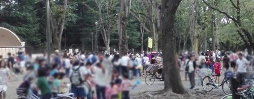 シルバーウィーク 吉祥寺・井の頭恩賜公園